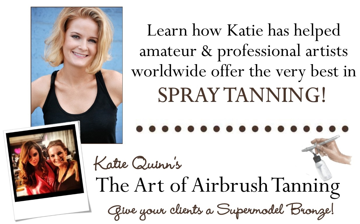 Learn the beautiful art of airbrush spray tanning today! Best spray tan training!