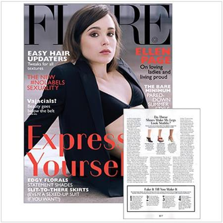 Spray Tan Contouring - Katie Quinn's supermodel tanning tips featured in FLARE Magazine with Ellen Page!  More at KonaTans.com #beautytips #makeupartist #tanning #contouring