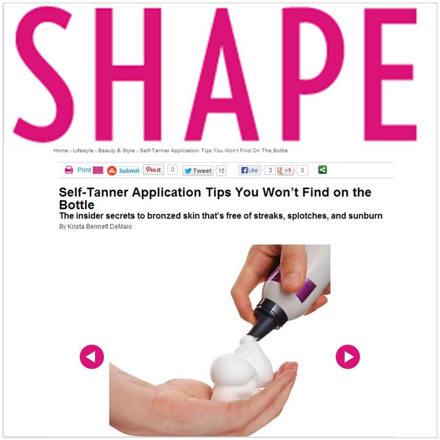 Spray Tan Contouring - Katie Quinn's supermodel tanning tips featured in SHAPE!  More at KonaTans.com #beautytips #makeupartist #tanning #contouring